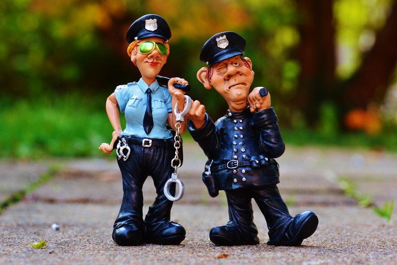 Тест для устройства на работу в полицию